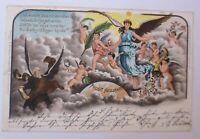Neujahr, Engel, Altes und Neues Jahr,   1899 ♥