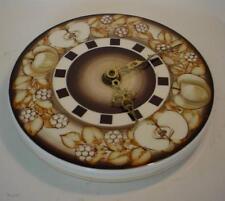 1960's Jersey Pottery Fruit Bowl Design Wall Clock