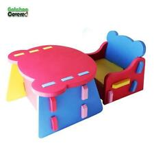 New Kids Chair and Table Set Non-Toxic Soft Foam Kids Chair and Table