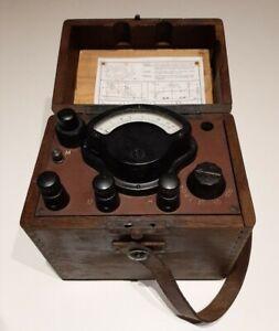 Terrafix II misuratore di terra vintage.Ground resistance tester.Made in Germany