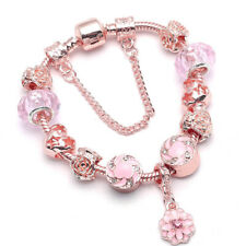 Bettelarmband Armband 20cm Rosegold Charm Bracelet