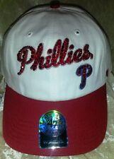 Philadelphia Phillies Womens Bling MLB 47 Brand Baseball Cap Hat ~NEW~