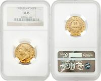 France 1812-A 20 Francs Gold NGC XF45