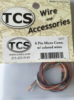an extension plug for an 8 pin connector 8 Pin NMRA Socket TCS  EP