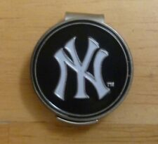 "NY Yankees New York MLB 1"" Golf Ball Marker 2 sided with Metal Hat Clip"