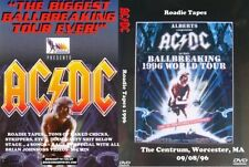 ACDC 1996 Rare Roadie Tapes DVD