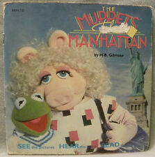 The Muppets Take Manhattan   Book and RECORD set  See Hear & Read it song set