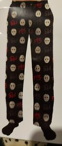 Men's Friday The 13th, Jason's Masks, Lounge Pants XL (40-42) or 2XL (44-46) New