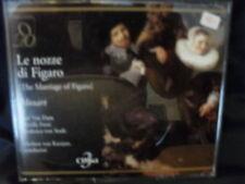 Mozart - Le Nozze Di Figaro  -Karajan / Van Dam  -3CD-Box
