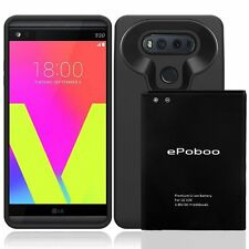 LG V20 Case Extended Replacement Battery 6400mAh Power Portable High-speed New