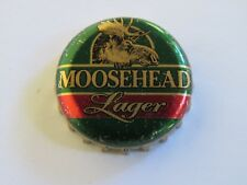 BEER Bottle Crown Cap ~ MOOSEHEAD Brewery Lager ~ Saint John, New Brunswick, CA