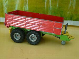 SIKU REMORQUE BASCULANTE 2 essieux, rouge, ref 2413, échelle 1/32