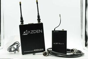 AZDEN 400UDR Receiver w/41BT UHF Transmitter                                #098