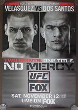 Official UFC Fox 1 - Cain Velasquez vs Dos Santos Poster 27x39 (Near Mint)