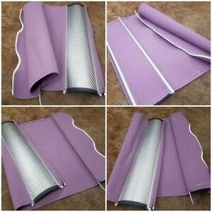 30 INCH DOMETIC /CAREFREE RV WINDOW AWNING REPLACEMENT FABRIC WITH WEATHER GUARD