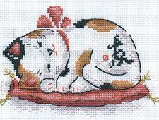 Cross Stitch Kit Prosperity at home (cat)