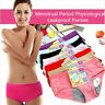 Period Briefs Leakproof Menstrual Panties Women Underwear Physiological
