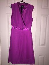 BNWTs Holly Willoughby size8 fuschia pink sleeveless vneck knee length tea dress