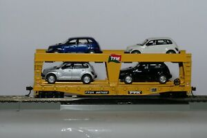 TTX AUTOLOADER NO.TTGX 987422 W/ FOUR AUTOS  ** ATHEARN HO SCALE MODEL
