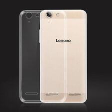 "For Lenovo Vibe K5 K5plus 5.0"" Ultra Thin Clear Gel Skin Case Cover"