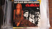 Le clan des Siciliens  45 tours Gabin Ennio MorriconeDelon Ventura 1969 Dalida