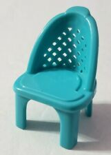 FISHER-PRICE LOVING FAMILY SWEET STREETS HOTEL TEAL CHAIR ONLY REPLACEMENT PIECE