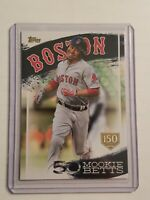 2019 Topps Series 2 Mookie Betts Highlights Insert Gold Stamp /150 #MB-7 RED SOX