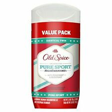 2pk Old Spice High Endurance Invisible Solid Men's Anti Perspirant & Deodoran...