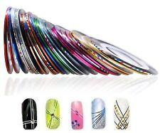 TBNL Nail Art Striping Tapes Zierstreifen (10 Rollen)  NEU&OVP