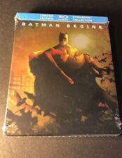 Batman Begins [ Limited Edition Steelbook ] (Blu-ray Disc) New