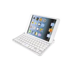 Ultra Slim Bluetooth Wireless Aluminum Keyboard Case Cover for iPad Mini