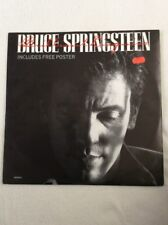 "BRUCE SPRINGSTEEN BRILLIANT DISGUISE 12"" VINYL 45rpm SINGLE WITH POSTER EX/EX"
