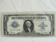 1923 Large $1 Dollar Silver Certificate Funny Back