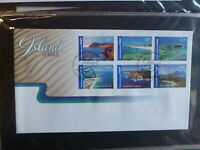 2007 AUSTRALIA ISLAND JEWELLS SET 6 INT RATE STAMPS FDC FIRST DAY COVER