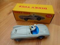 DINKY TOYS 110 ASTON MARTIN DB3S CAR - NEW BOXED - ATLAS EDITIONS
