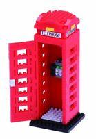 Nanoblock Mini Sites to See Series by Kawada London Telephone Box NBH 125 NEW