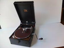 HMV-102D portable gramophone, serviced...