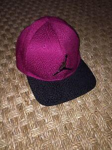 Nike Air Jordan Infant Jumpman Cap Hat sz 12/24 Months * Adjustable Snap Back
