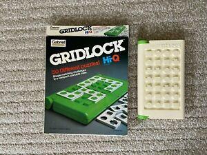 Gabriel Hi-Q Collection Gridlock Puzzle Game COMPLETE Vintage 1981 USA Compact