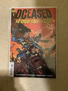 DCEASED A GOOD DAY TO DIE # 1 * DC COMICS * NEAR MINT