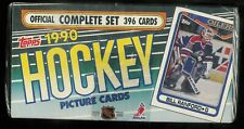 1990-91 TOPPS HOCKEY COMPLETE FACTORY SEALED SET 1-396