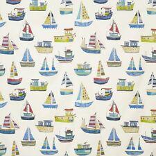 Boat Club Cobalt Fabric By Prestigious Textiles