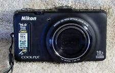 Nikon COOLPIX S9300 16.0MP Digital Camera - Black #24