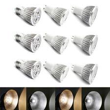 Cree/Epistar Dimmable MR16 GU10 GU5.3  E27 4/5/9/12/15W LED Spotlights Lamp 220V
