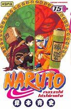 NARUTO tome 15 Kishimoto manga shonen