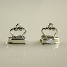 Iron - 5 Lead Free Antique Silver Tone Pewter Charms