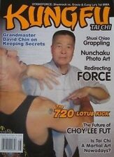 7/06  KUNG FU TAI CHI GRANDMASTER DAVID CHIN CHOY LEE FUT KARATE MARTIAL ARTS