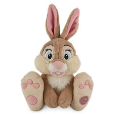 "14"" MISS BUNNY Plush Rabbit  Bambi Movie Disney Store Authentic Patch 2014 NWT"