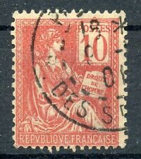 TIMBRE FRANCE OBLITIERE TYPE MOUCHON N° 116 / Photo non contractuelle