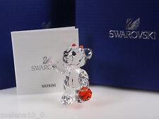 Swarovski Kris ORSO BEAR limita 2011 1096026 Halloween AP 2011 NUOVO